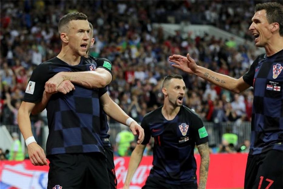 Kroatien England Wm