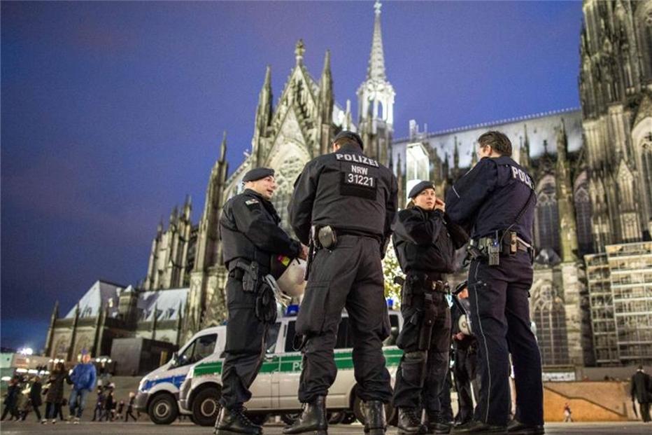 Polizei Weihnachten