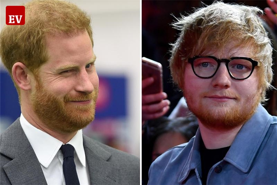 Prinz Harry im Videoclip mit Ed Sheeran
